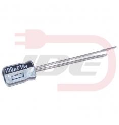 Kondenzátor 100uF 16V