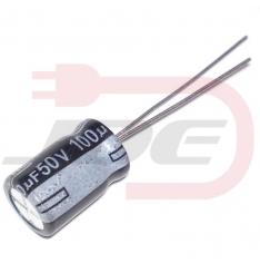 Kondenzátor 100uF 50V