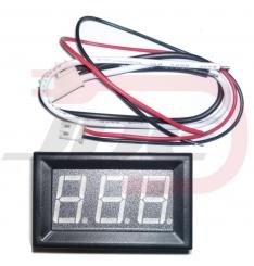 Ampérmeter 10A - červený