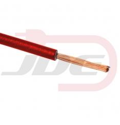 Vodič 0,75mm červený