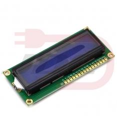Display LCD 16x2 - modrá