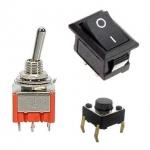Vypínače a tlačidlá